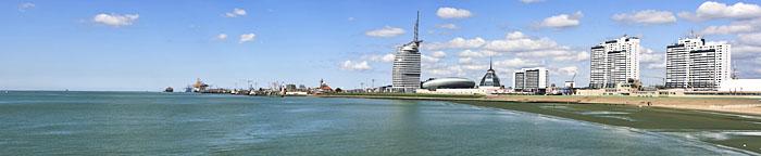 Panorama, Seestadt Bremerhaven